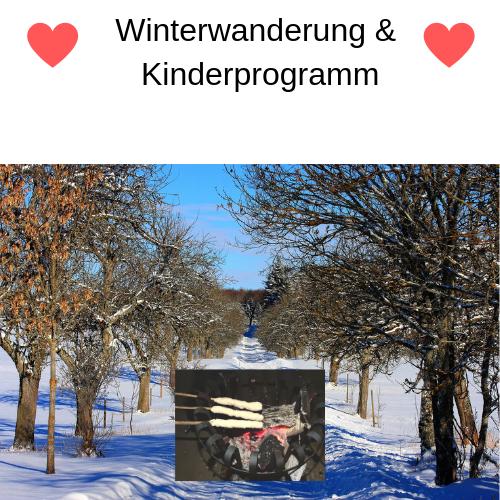 Kulinarische Winterwanderung für Erwachsene & Kinder