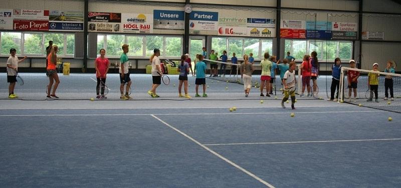 Tennishalle DJK Altdorf - Tennis lernen in Landshut
