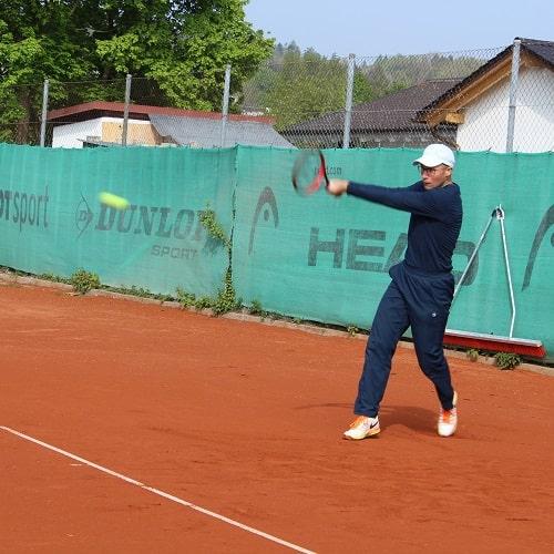 Tennis spielen beim DJK Altdorf - Tennis Landshut - Tennisverein Tennisclub - Training