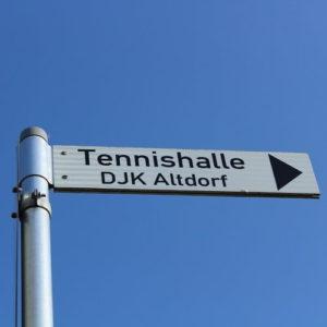 Tennishalle DJK Altdorf Tennisclub, Tennisverein, Tennis spielen in Landshut, Tenniskurse buchen, Aussenplätze, Hallenplätze (3)